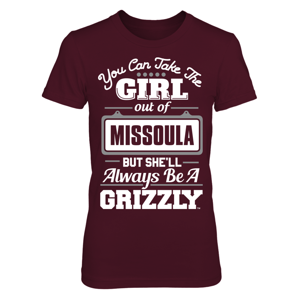 Montana Grizzlies - You Can Take The Girl Out Front picture