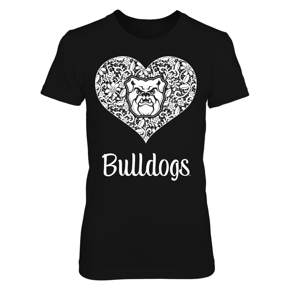 Butler Bulldogs - Lace Heart Logo Front picture