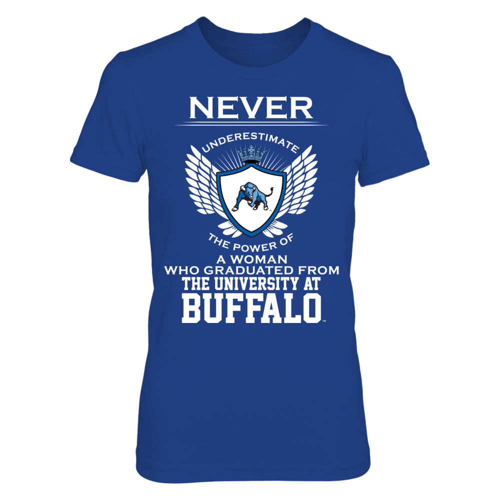 Buffalo Bulls - Never Underestimate Front picture
