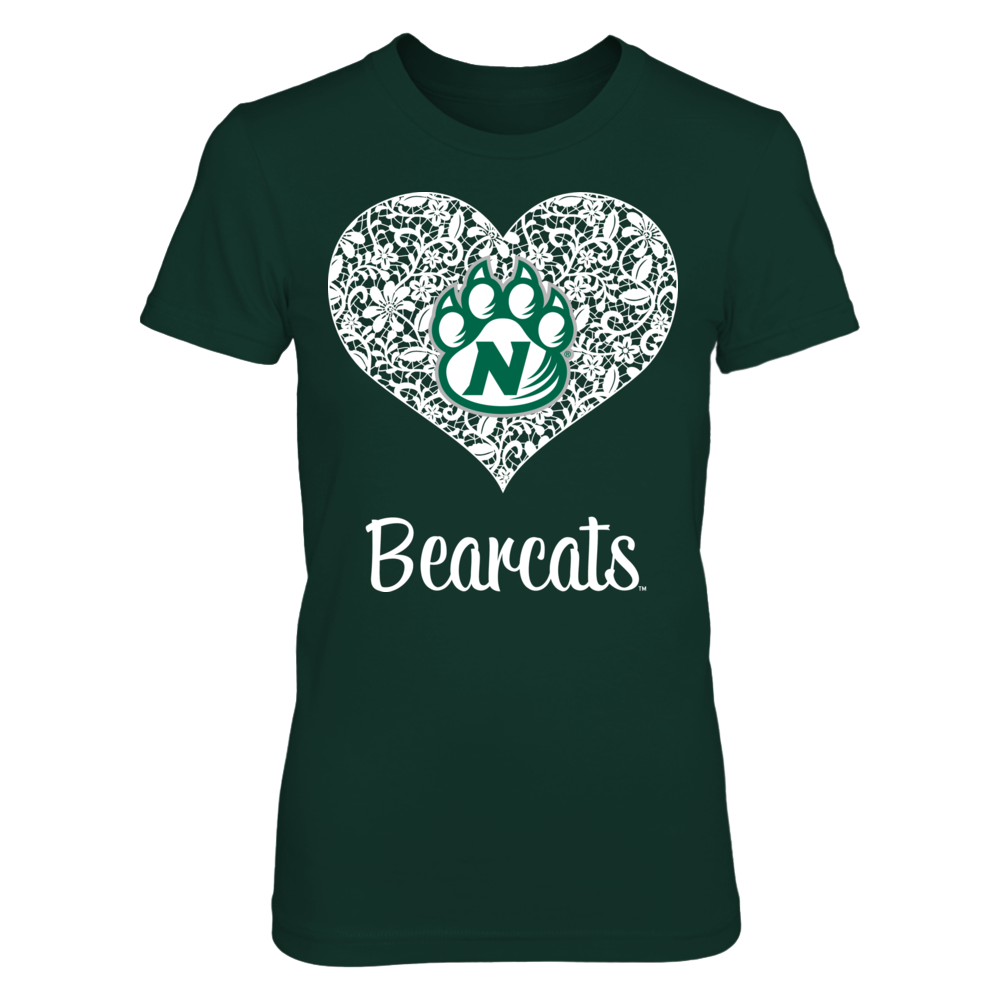 Northwest Missouri State Bearcats - Lace Heart Front picture