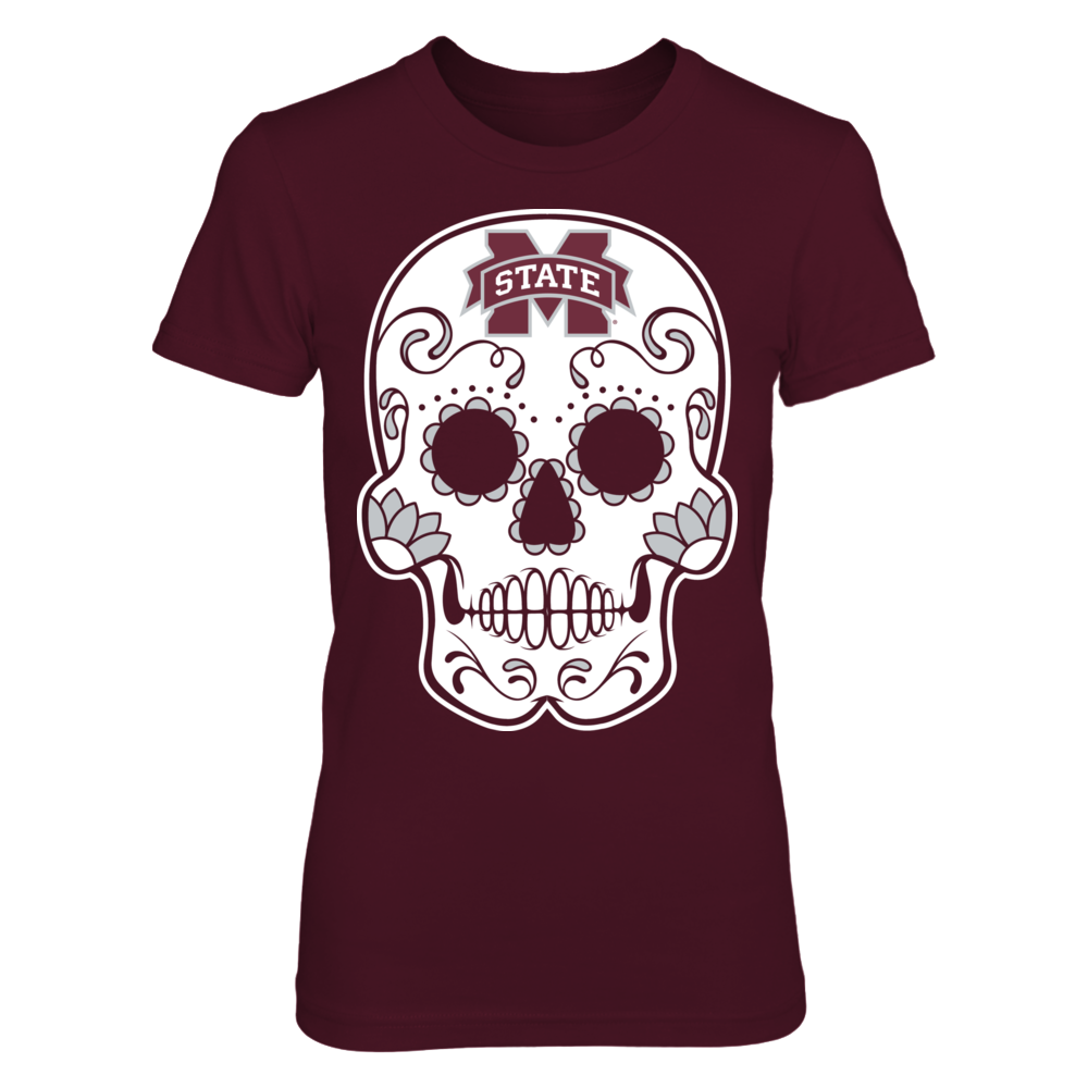 Mississippi State Bulldogs - Sugar Skull Front picture