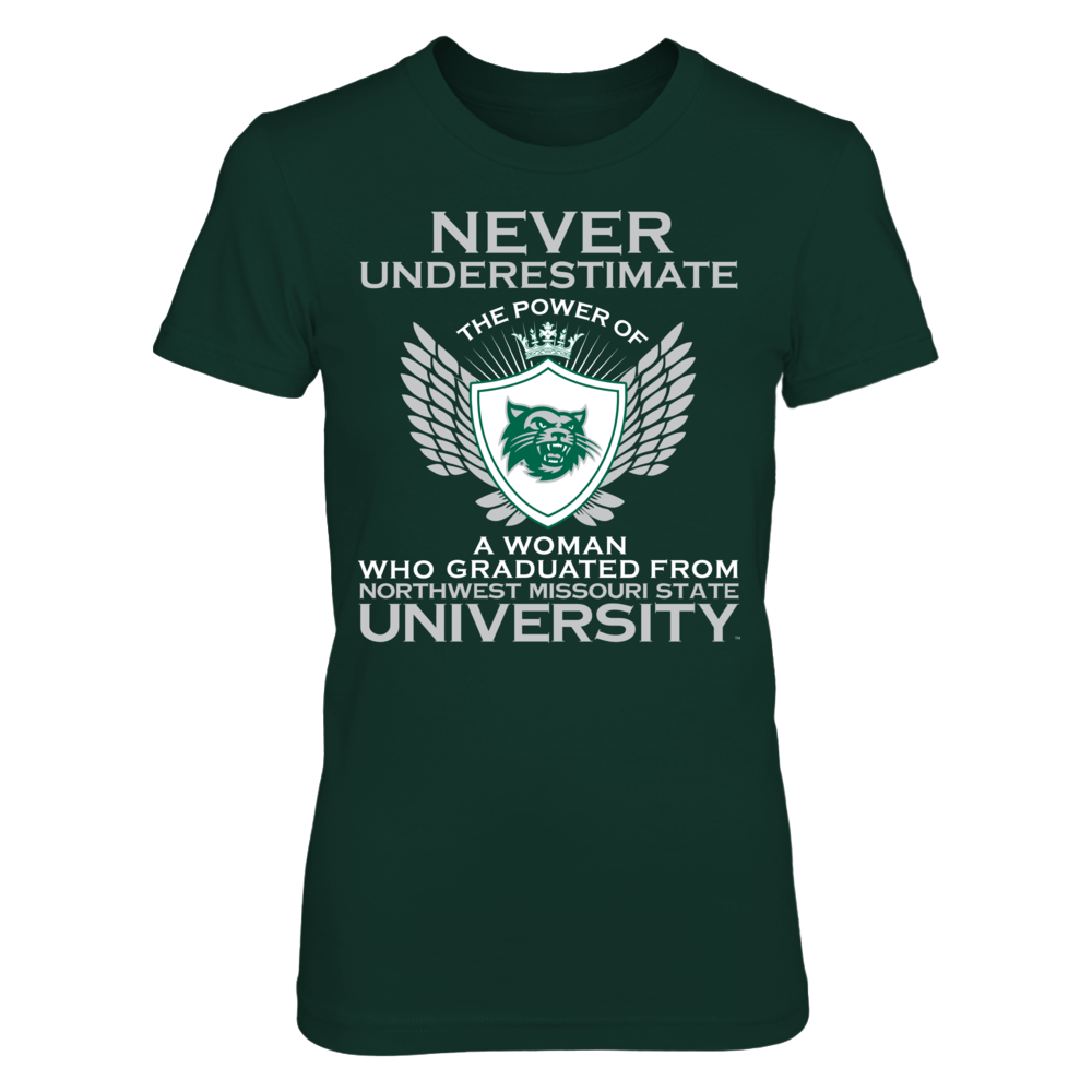Northwest Missouri State Bearcats - Never Underestimate Front picture