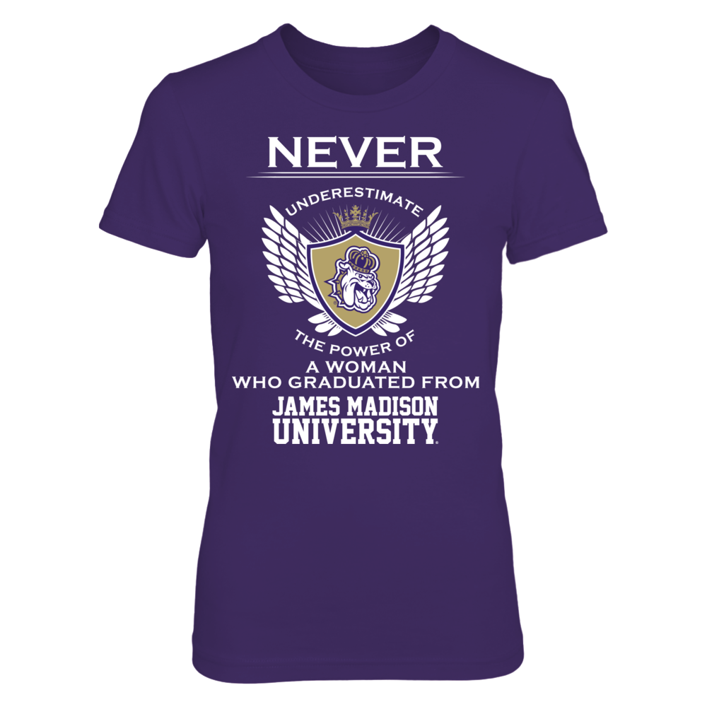 James Madison Dukes - Never Underestimate Front picture