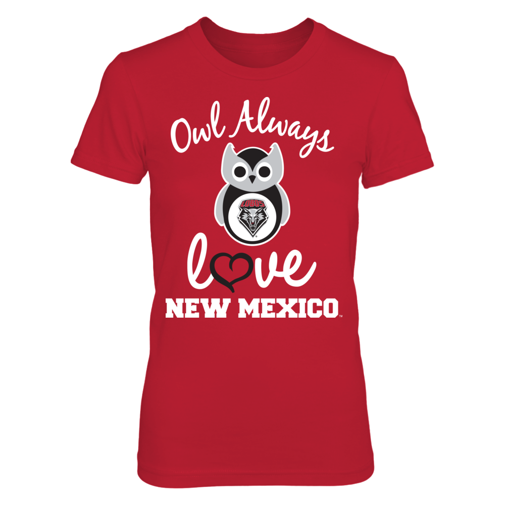 New Mexico Lobos - Owl Always Love Front picture