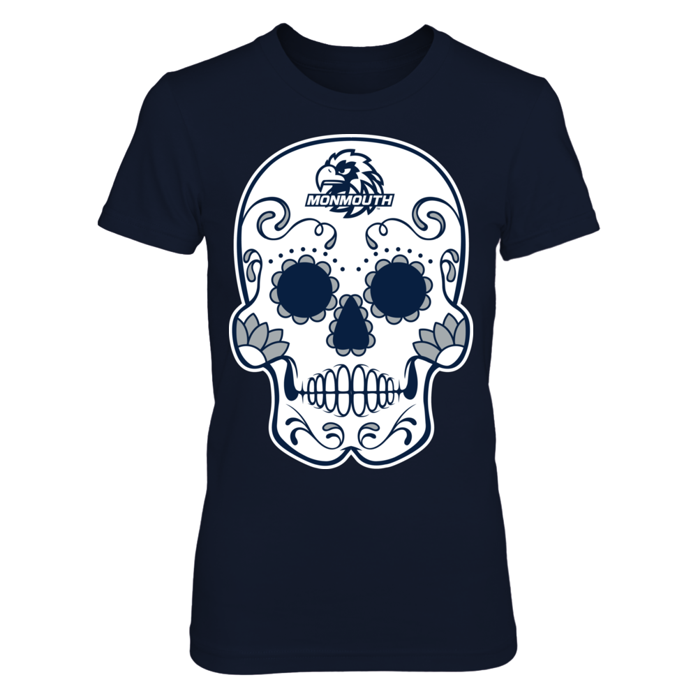 Monmouth Hawks - Sugar Skull Front picture