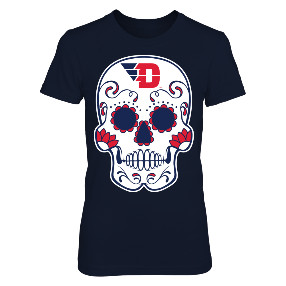 Dayton Flyers - Sugar Skull Front picture