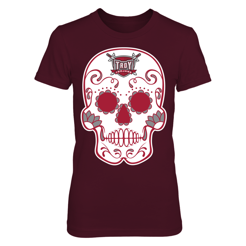 Troy Trojans - Sugar Skull Front picture