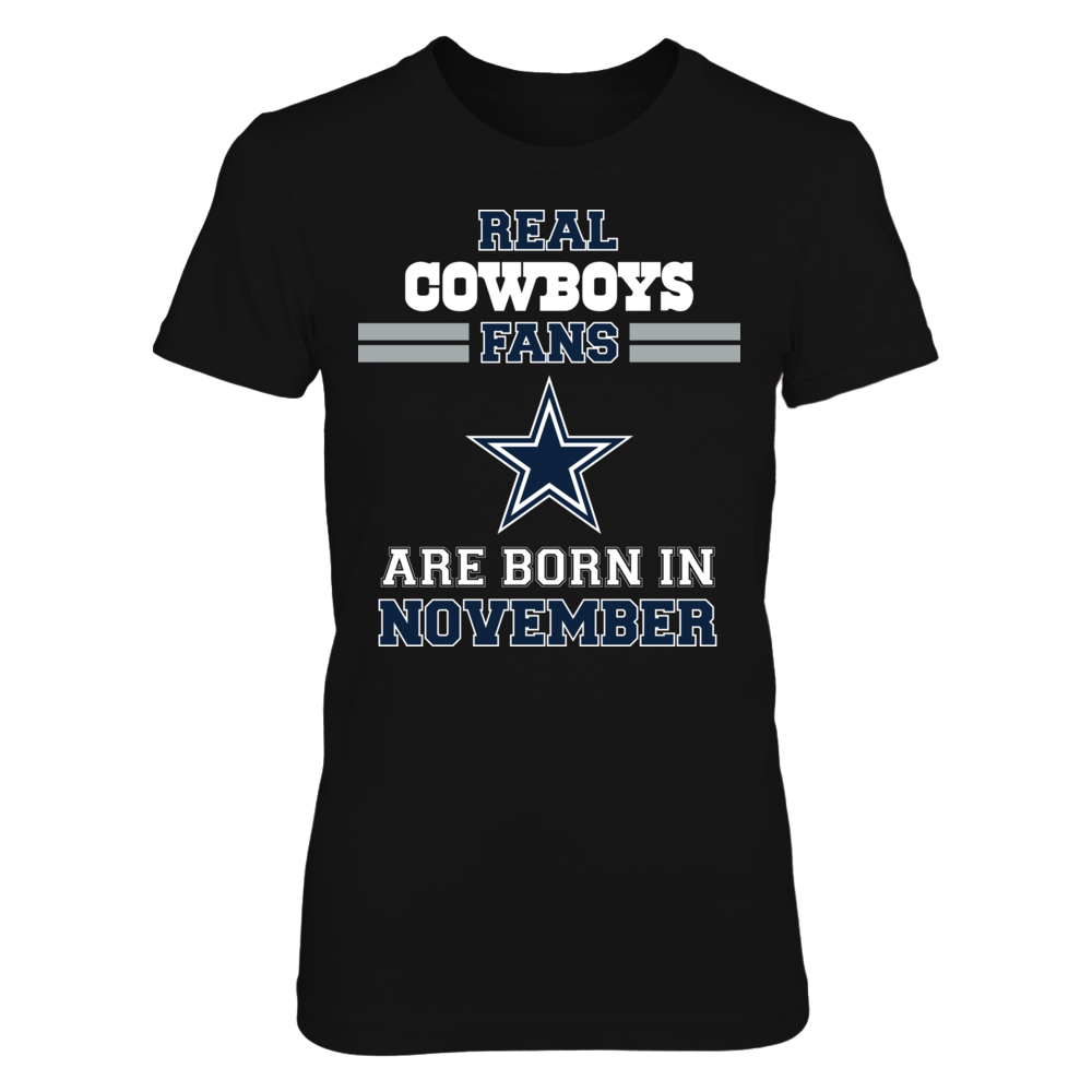 November Birthday Cowboys Fan Front picture