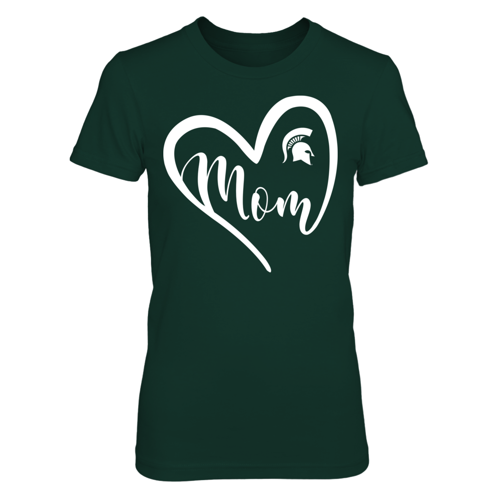 Michigan State Spartans - Heart Mom Front picture