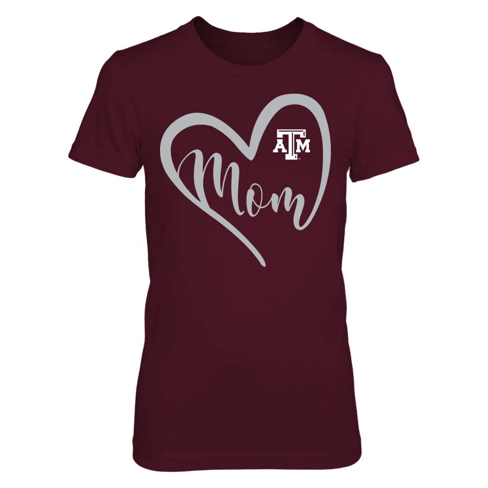 Texas A&M Aggies - Flower Heart Mom Front picture