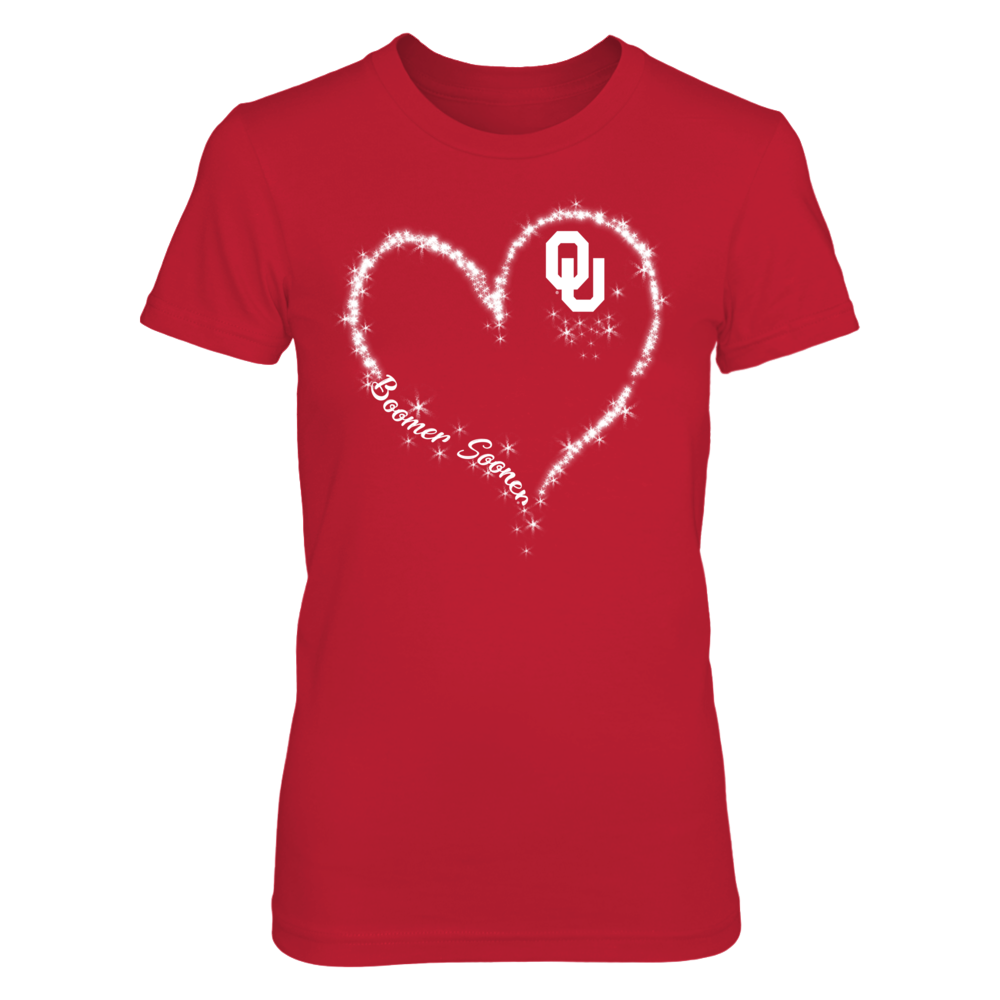 Oklahoma Sooners - Blink Heart Front picture