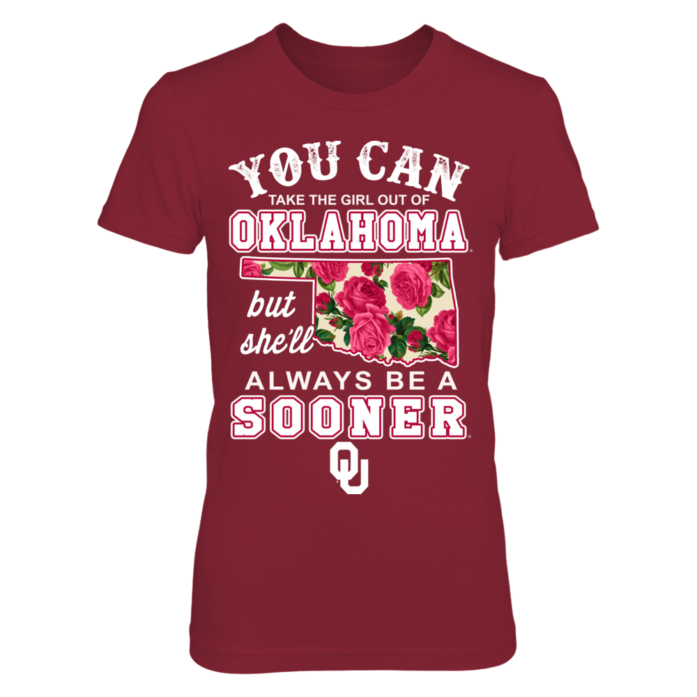 Oklahoma Sooners - Take The Girl Out - Floral Front picture