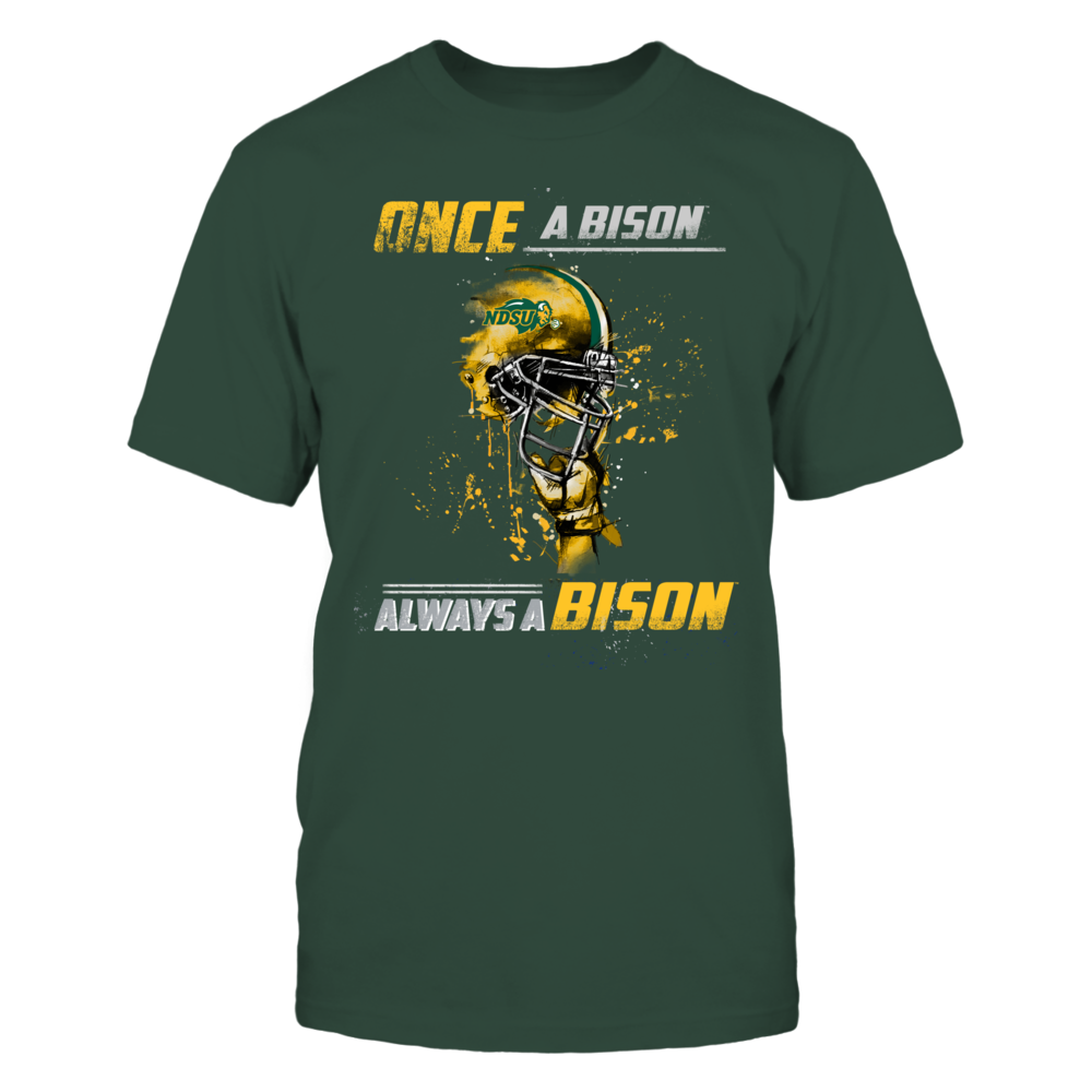 North Dakota State Bison - Once a Fan Helmet Front picture
