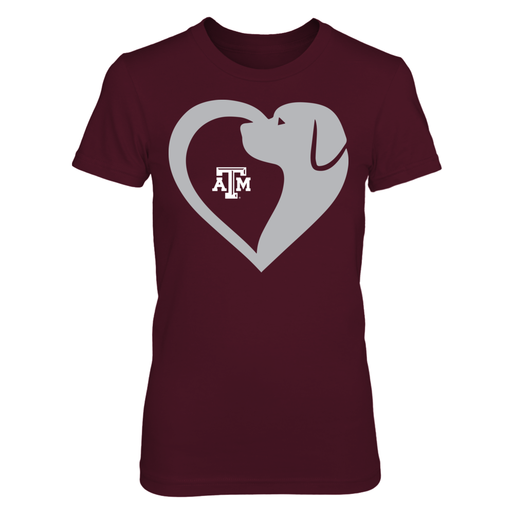 Texas A&M Aggies - Dog Heart Front picture