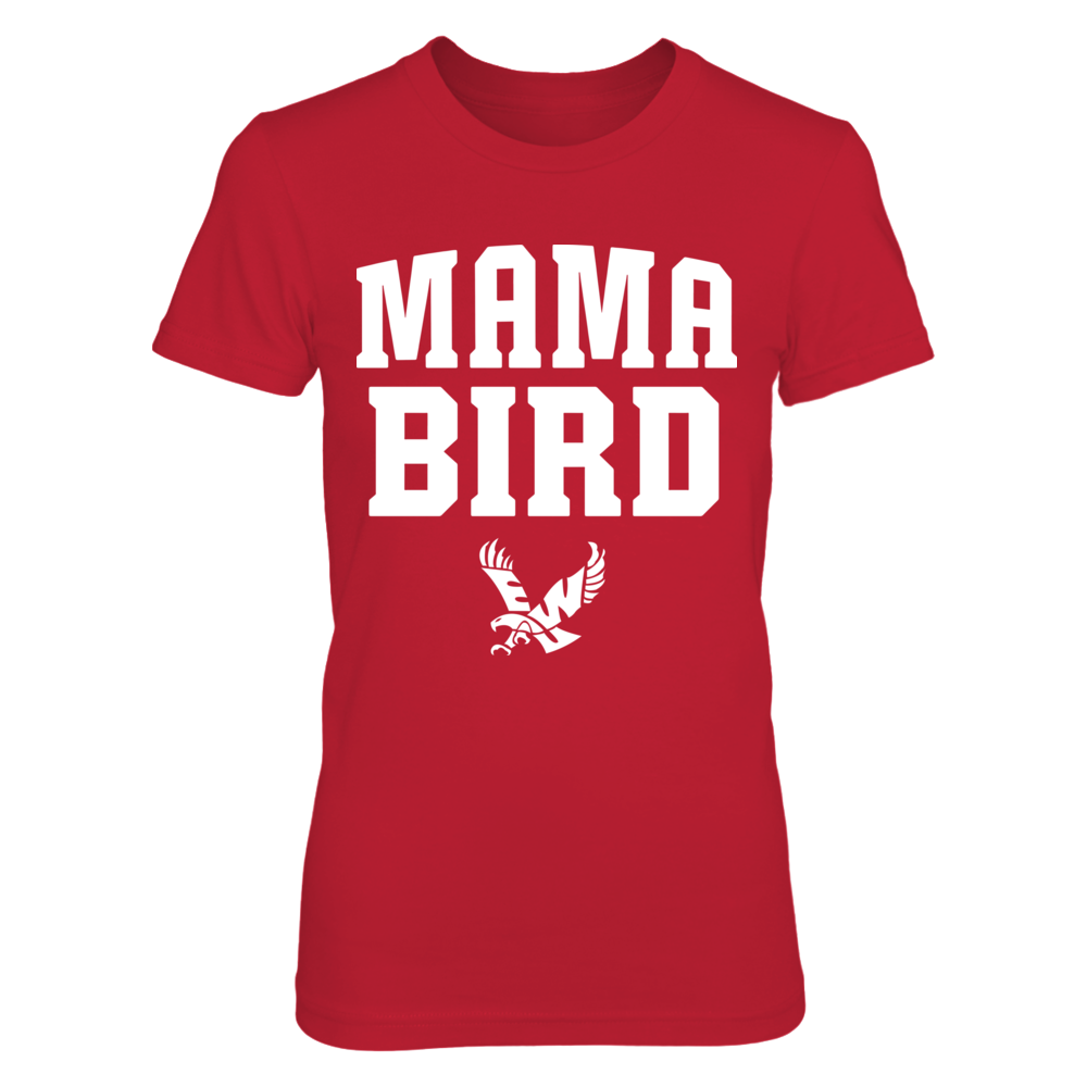 Eastern Washington Eagles - Mama Bird - Red shirt Front picture
