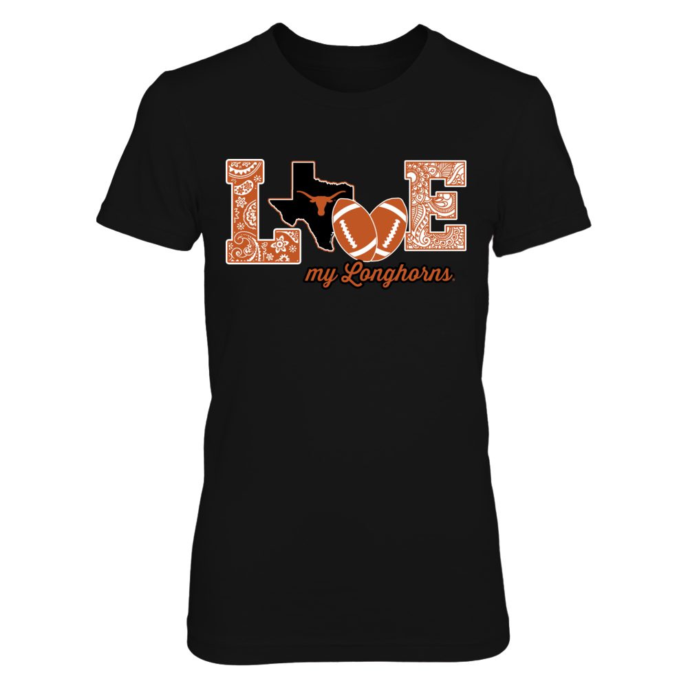 Texas Longhorns - Love My Team - Football - Original - IF-IC13-DS27 Front picture
