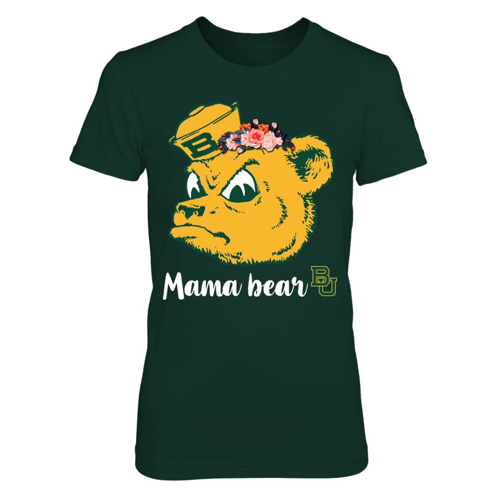 Baylor Bears - Floral Mama Bear Front picture