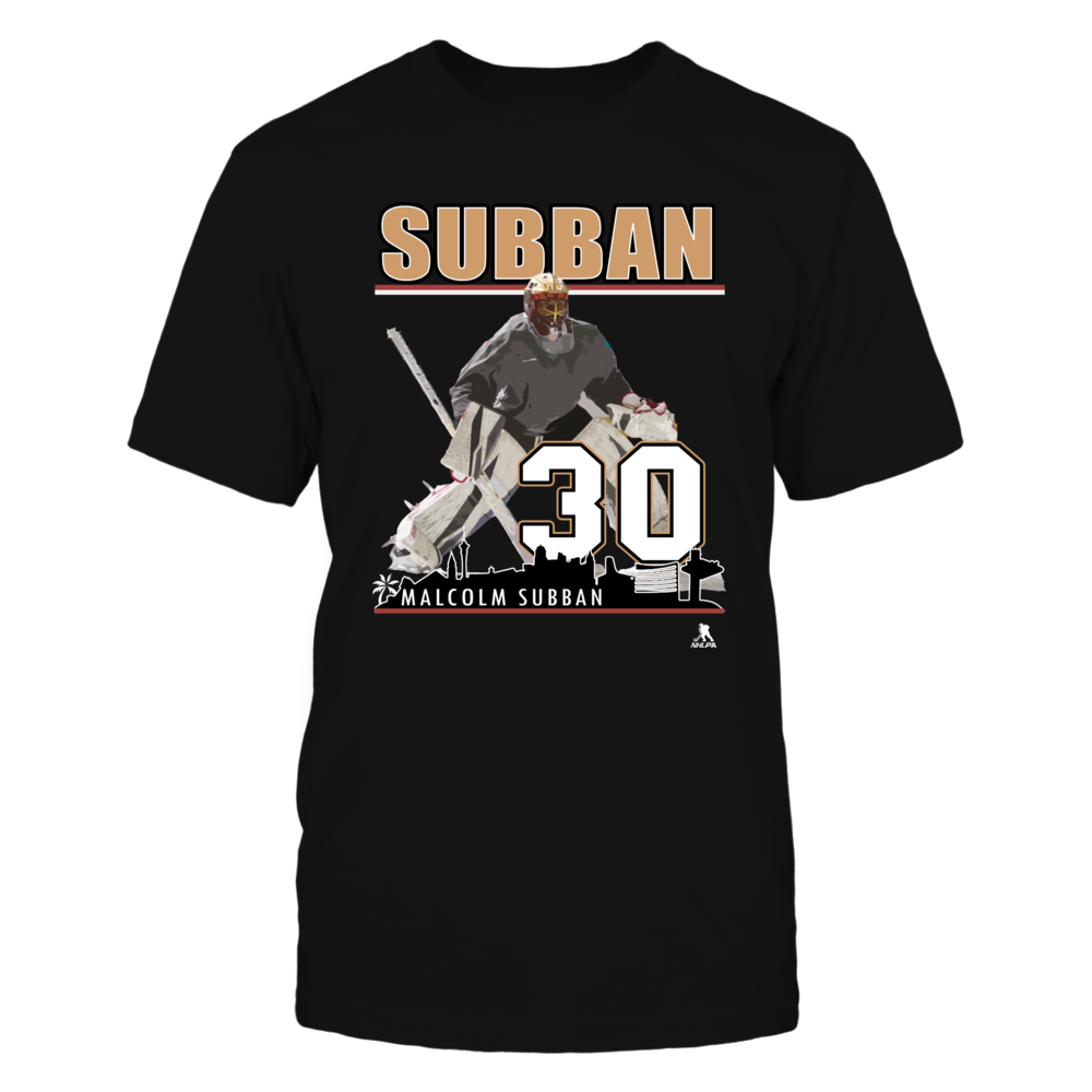 Malcolm Subban No 30  -  Vegas Golden Knights Hockey Goalie Front picture