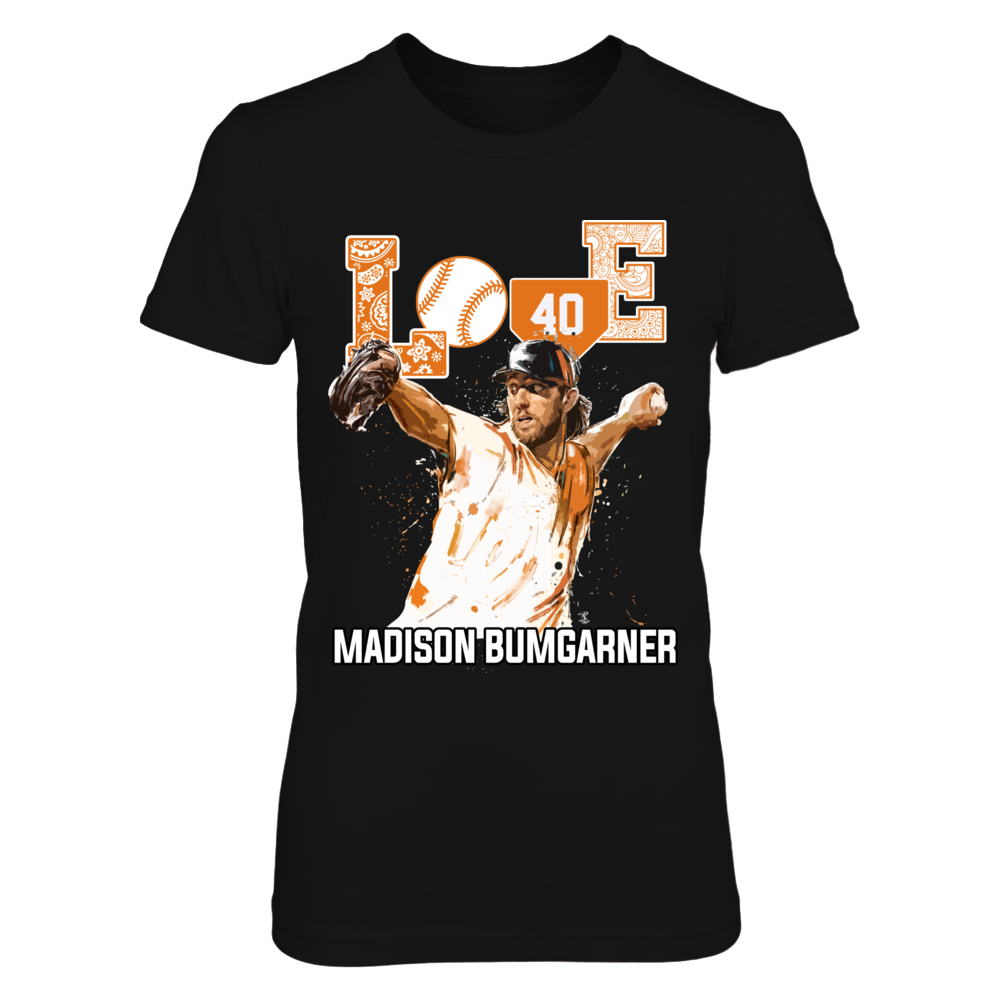 Madison Bumgarner - Love Player Front picture