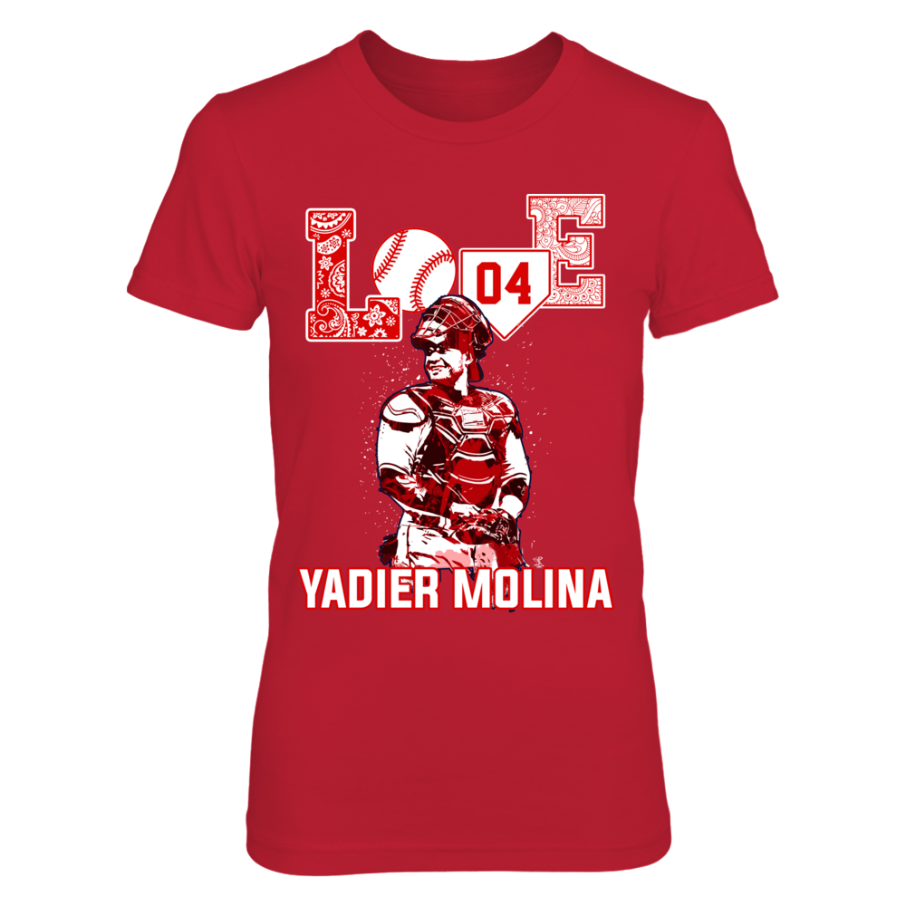 Yadier Molina - Love Player Front picture