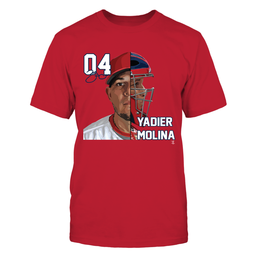 Yadier Molina - Half Face Front picture