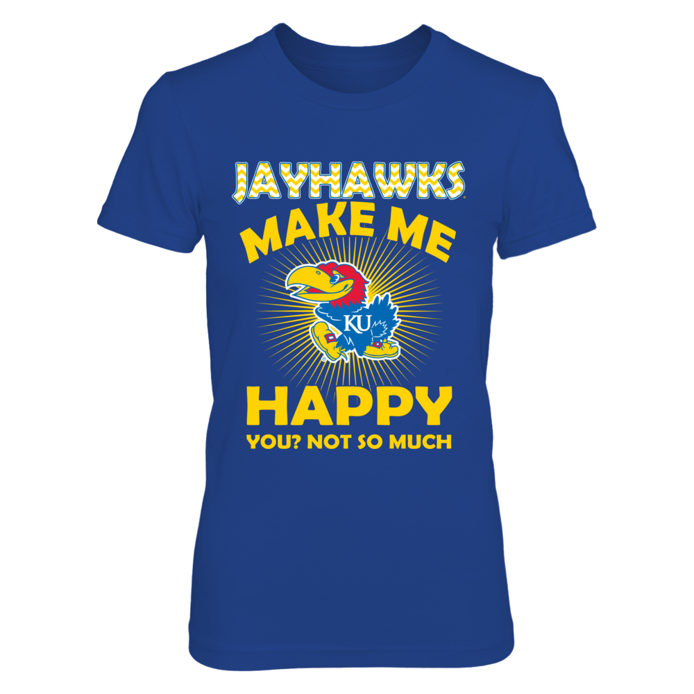 Kansas Jayhawks - My Team Makes Me Happy Front picture