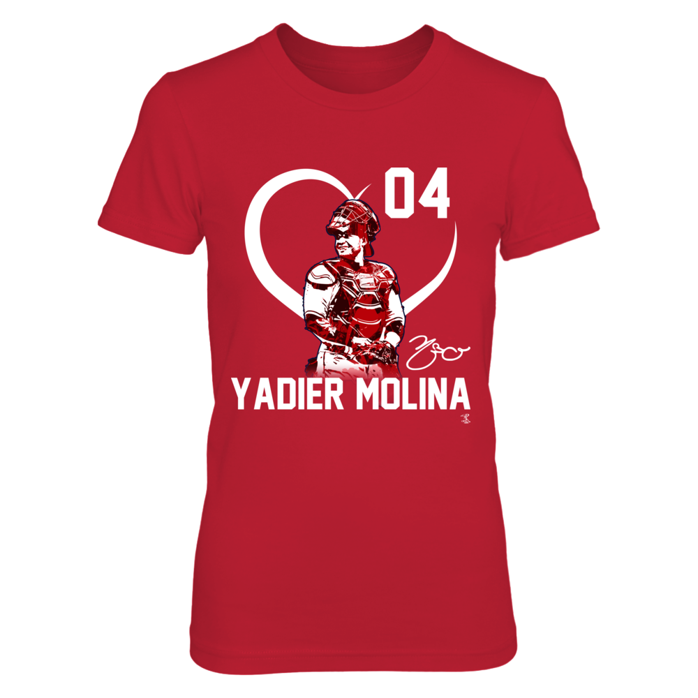 Yadier Molina - Player Heart Front picture