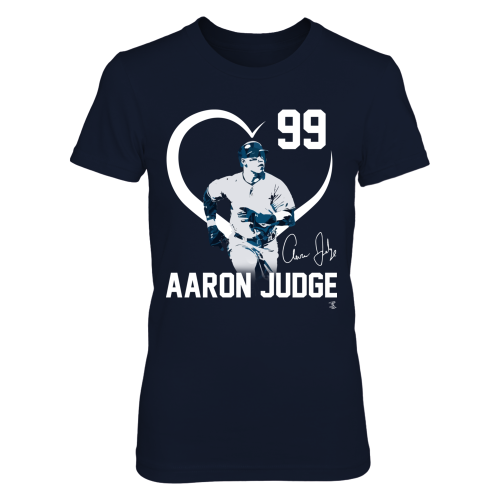 Aaron Judge - Player Heart Front picture