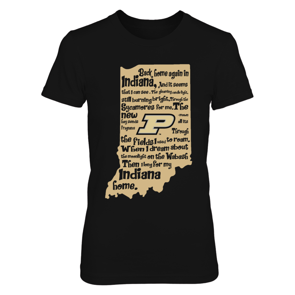 Purdue Boilermakers - Back Home Again In Indiana Front picture
