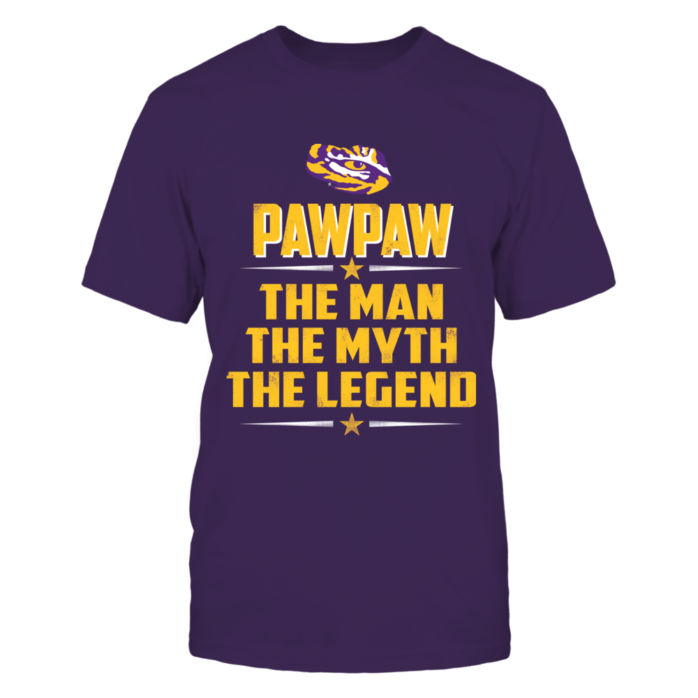LSU Tigers - Pawpaw - The Man - The Myth - The Legend Front picture