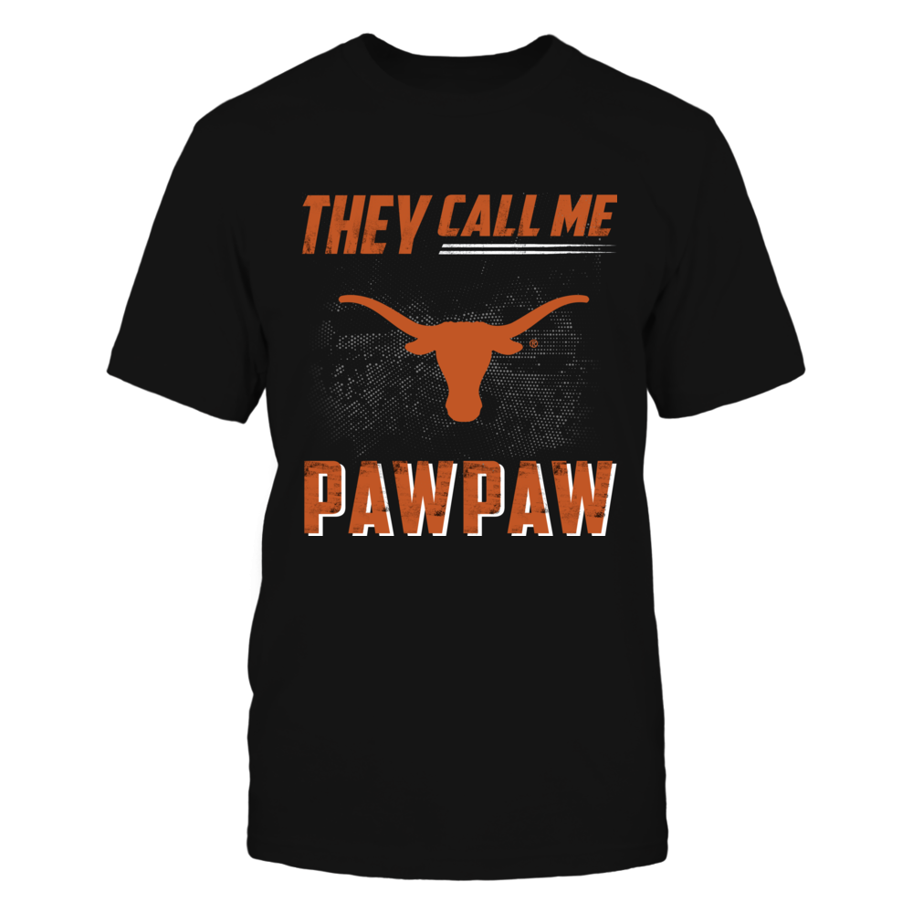 Texas Longhorns - They Call Me Paw Paw Front picture