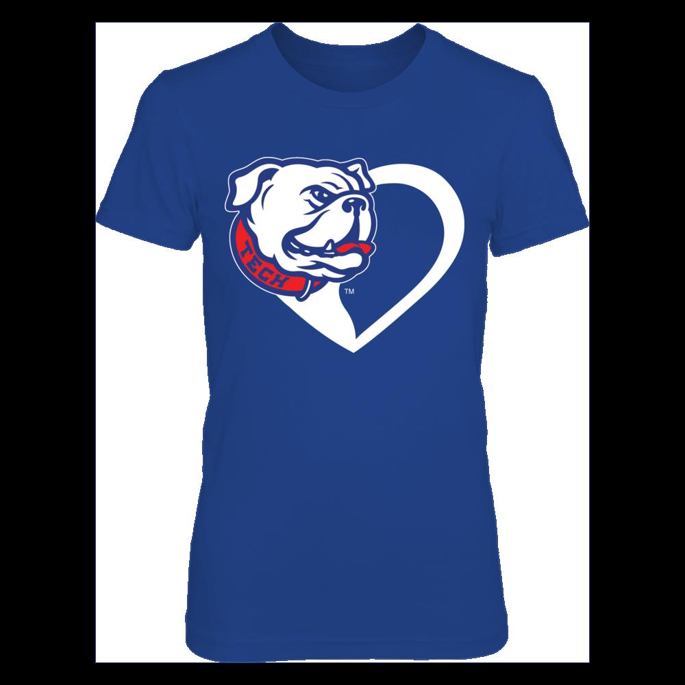 Louisiana Tech Bulldogs - Bulldog Heart Front picture