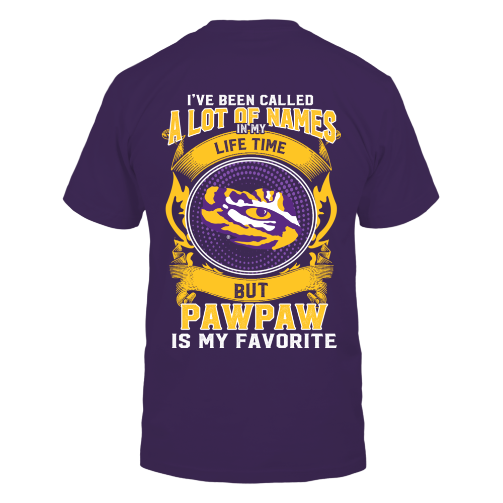 LSU Tigers - My Favorite Name - Pawpaw Back picture