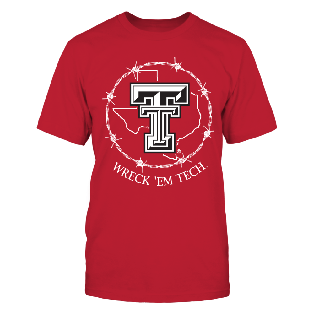 Texas Tech Red Raiders - Texas Symbol Circle Front picture