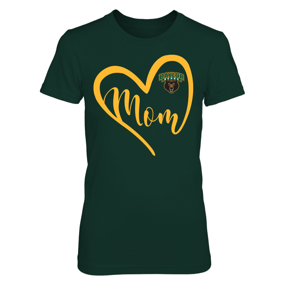 Baylor Bears - Heart Mom Front picture