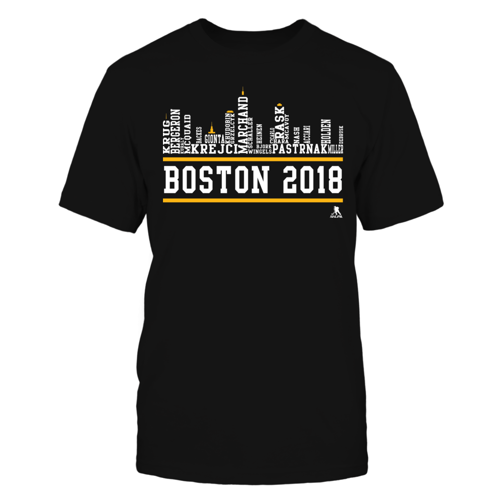 Boston Skyline - 2018 Roster Front picture