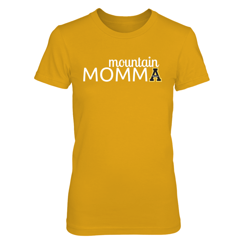 Appalachian State Mountaineers - Mountain Momma - Gold Shirt Front picture