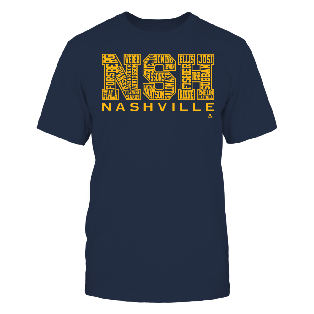 Bubble Letters - Nashville 2017-18 Front picture