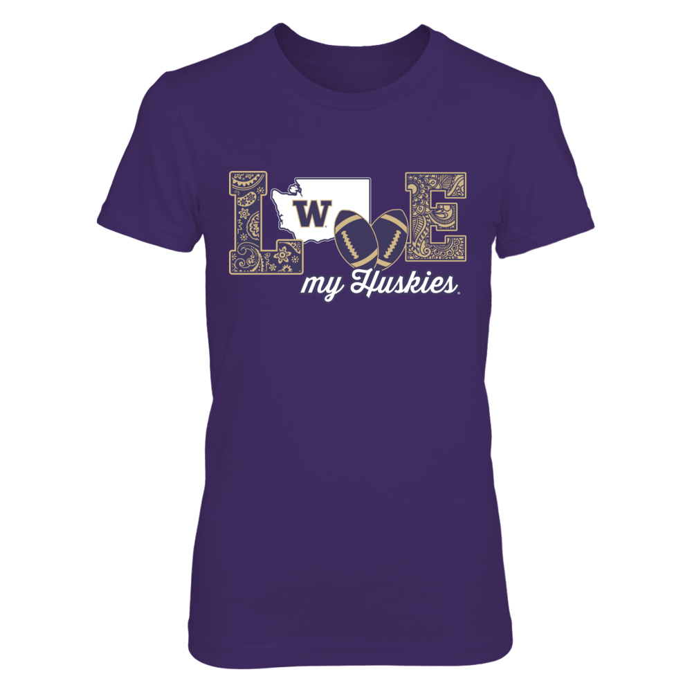 Washington Huskies - Love My Team - Football Front picture