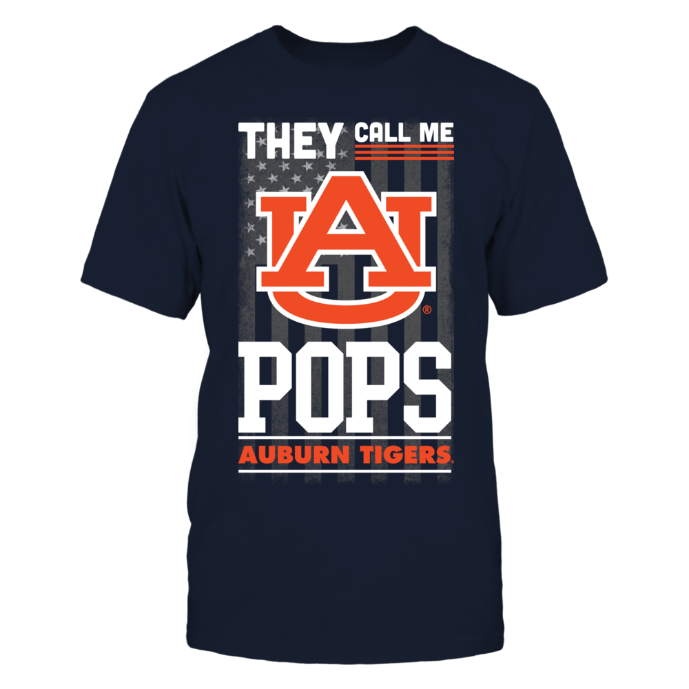 Auburn Tigers - They Call Me Pops (Flag) Front picture