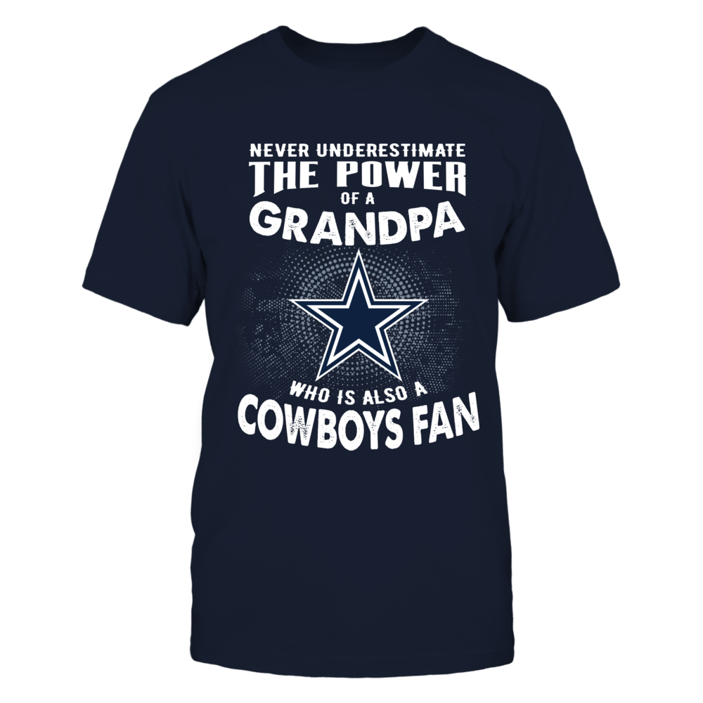Dallas Cowboys - Never Underestimate A Grandpa Front picture