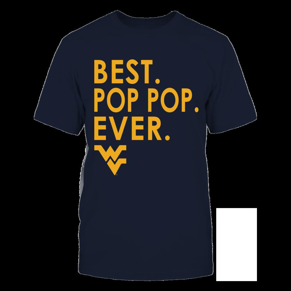 West Virginia Mountaineers - Best Pop Pop Ever Front picture