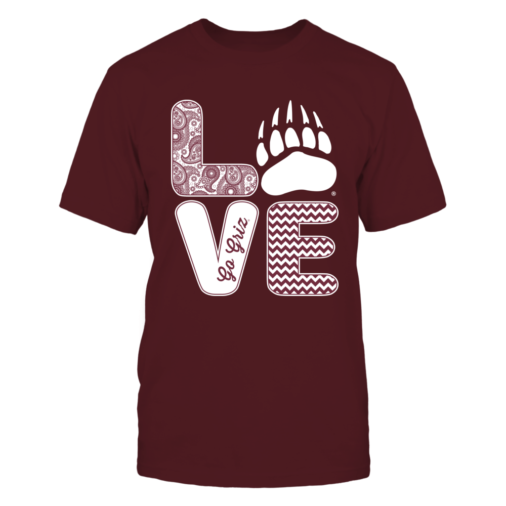 Montana Grizzlies - Love - Paw Front picture