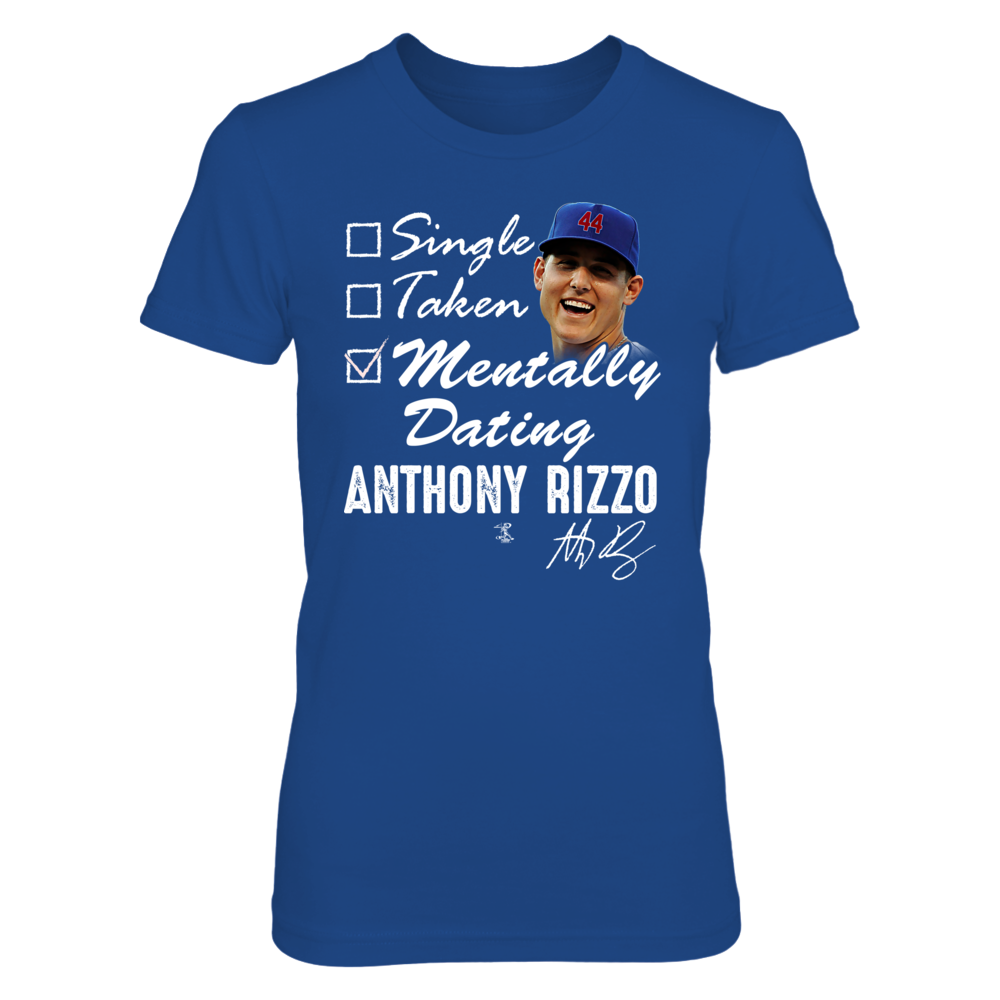 MENTALLY DATING - ANTHONY RIZZO Front picture