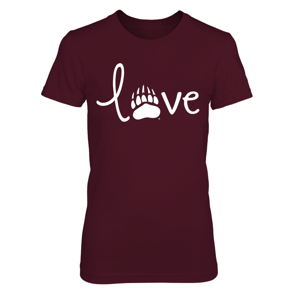 Montana Grizzlies - Love Logo Front picture