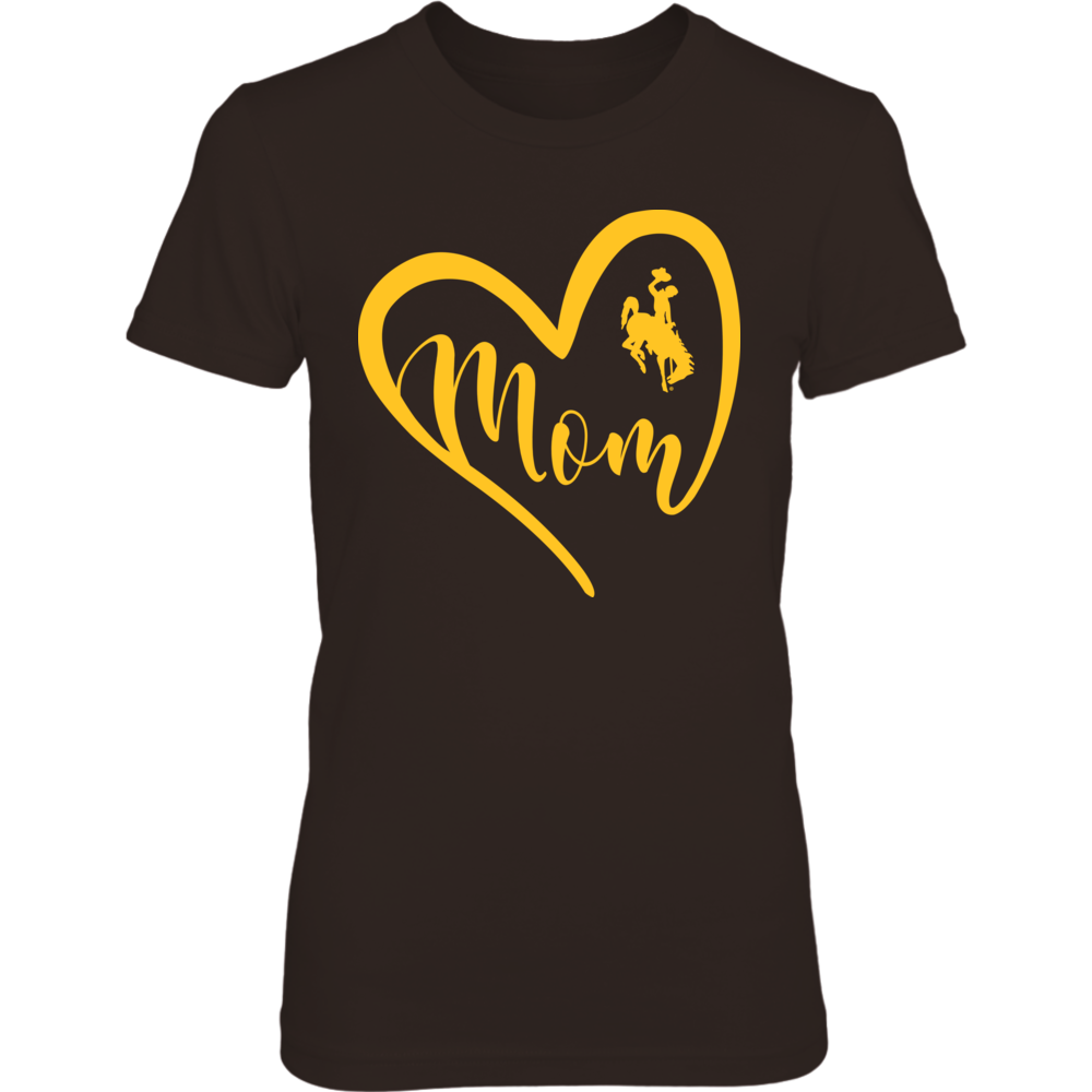 Wyoming Cowboys - Heart Mom Front picture