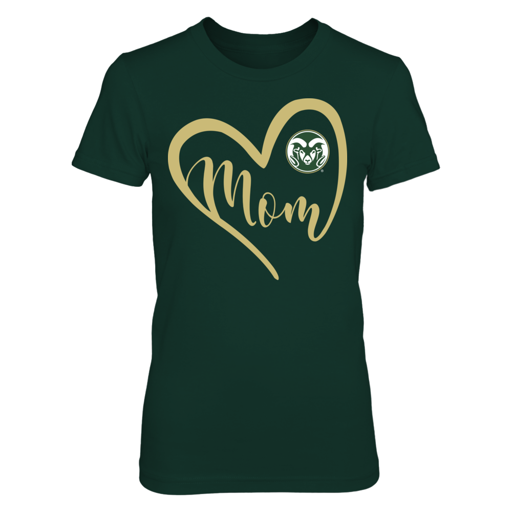 Colorado State Rams - Heart Mom Front picture