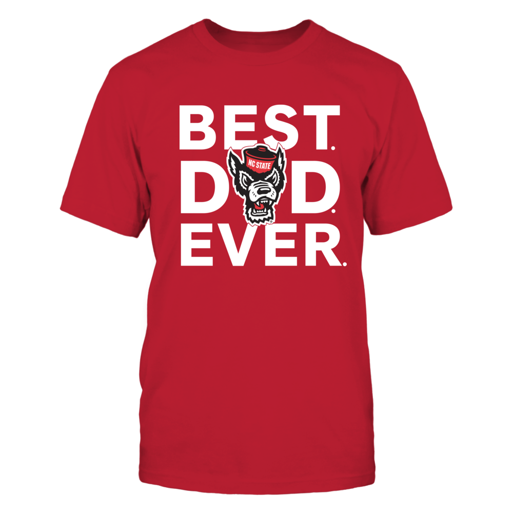 NC State Wolfpack - Best Dad Ever Front picture