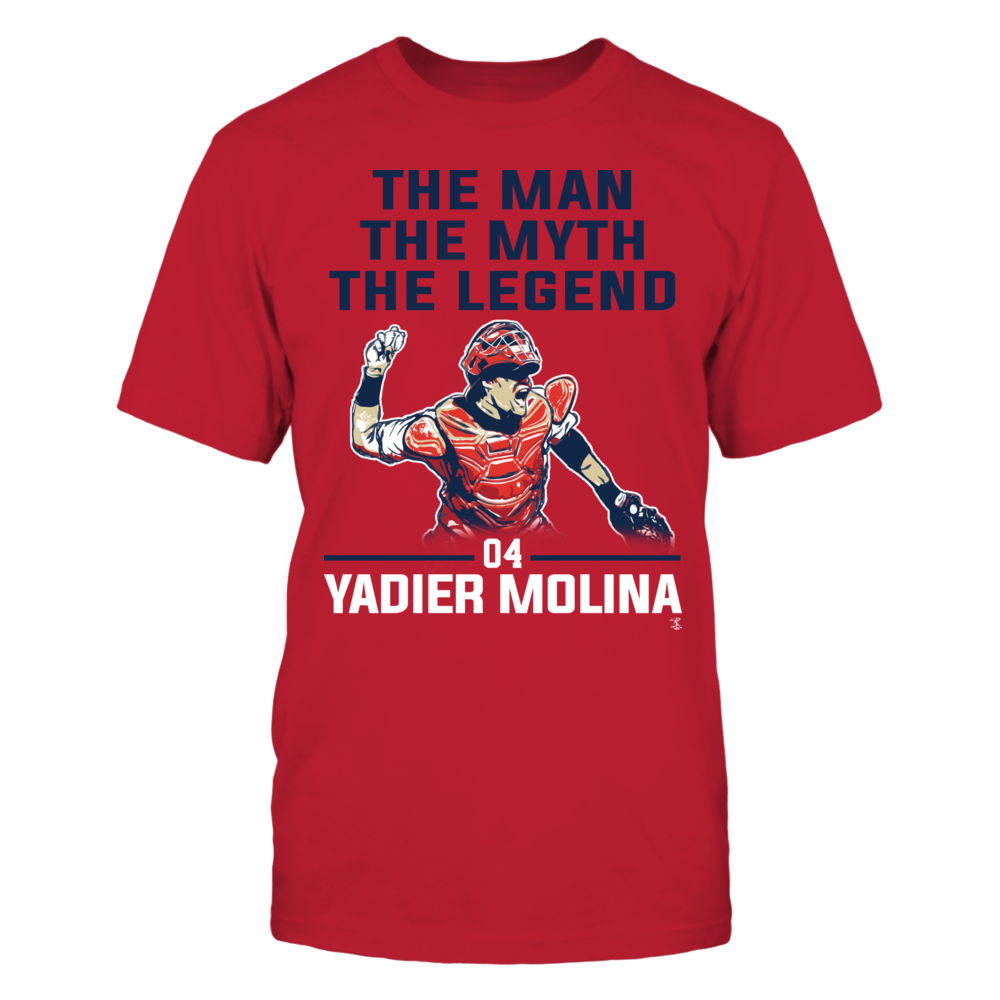 Yadier Molina - The Man - The Myth - The Legend Front picture