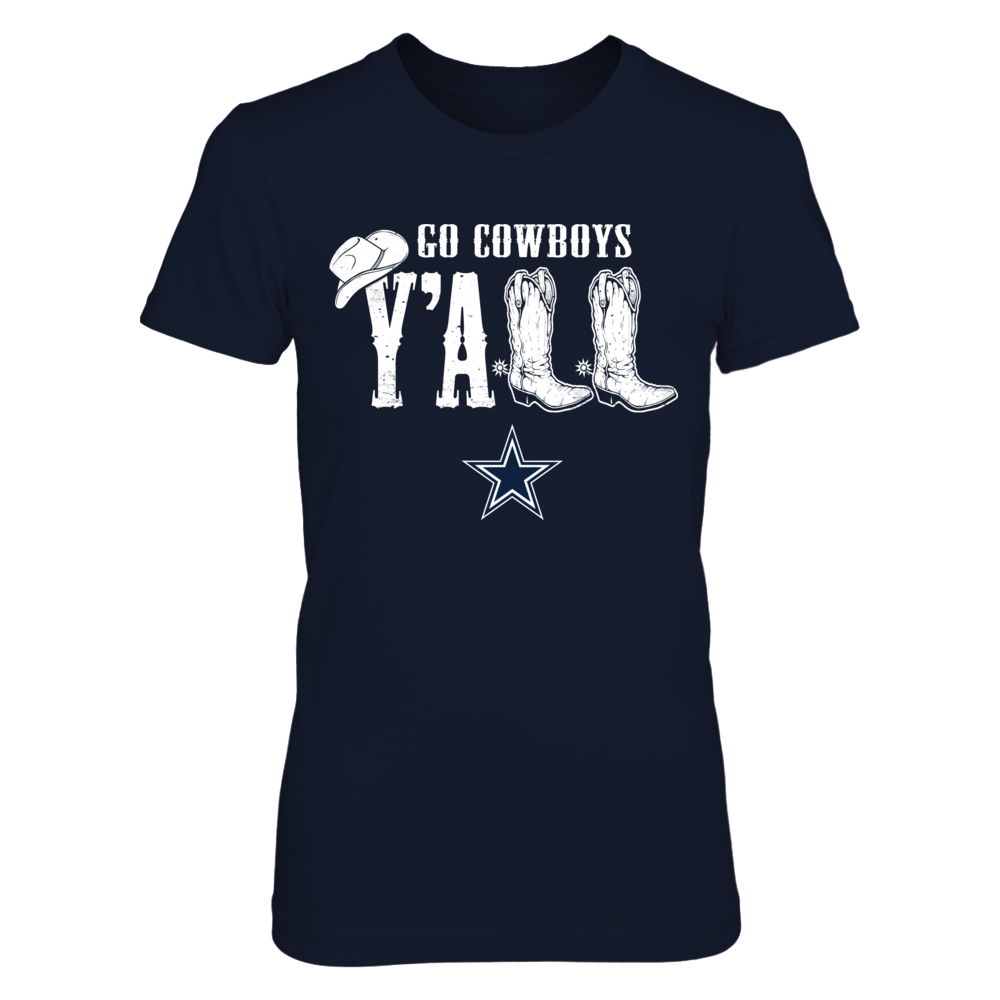 Dallas Cowboys - Y'all Boots Front picture
